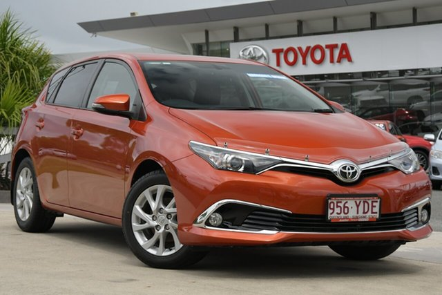 Pre-Owned Toyota Corolla ZRE182R Ascent Sport S-CVT North Lakes, 2018 Toyota Corolla ZRE182R Ascent Sport S-CVT Inferno 7 Speed Constant Variable Hatchback