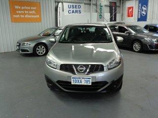2011 Nissan Dualis J10 Series II MY2010 ST Hatch Silver 6 Speed Manual Hatchback.