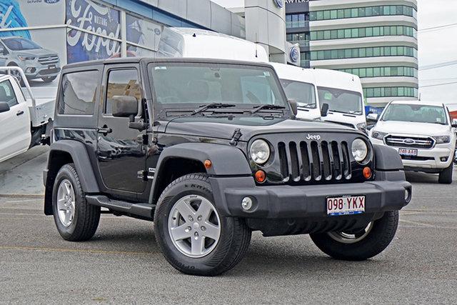 Used Jeep Wrangler JK MY2013 Sport Springwood, 2012 Jeep Wrangler JK MY2013 Sport Black 6 Speed Manual Softtop