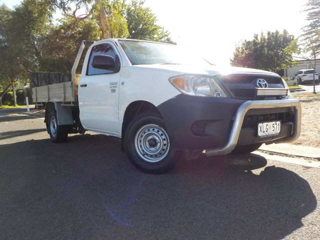 Used Toyota Hilux TGN16R MY05 Workmate 4x2 Broadview, 2006 Toyota Hilux TGN16R MY05 Workmate 4x2 5 Speed Manual Cab Chassis