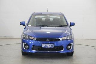 2016 Mitsubishi Lancer CF MY16 ES Sport Blue 6 Speed Constant Variable Sedan.