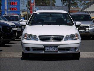 2005 Nissan Pulsar N16 ST White Automatic Sedan.