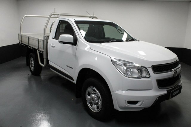 Used Holden Colorado RG MY16 LS 4x2 Rutherford, 2016 Holden Colorado RG MY16 LS 4x2 White 6 Speed Sports Automatic Cab Chassis