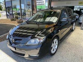 2007 Mazda 3 BK MY06 Upgrade SP23 Black 5 Speed Auto Activematic Hatchback