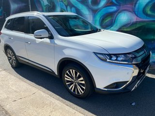 2020 Mitsubishi Outlander ZL MY21 Exceed AWD White 6 Speed Constant Variable Wagon.