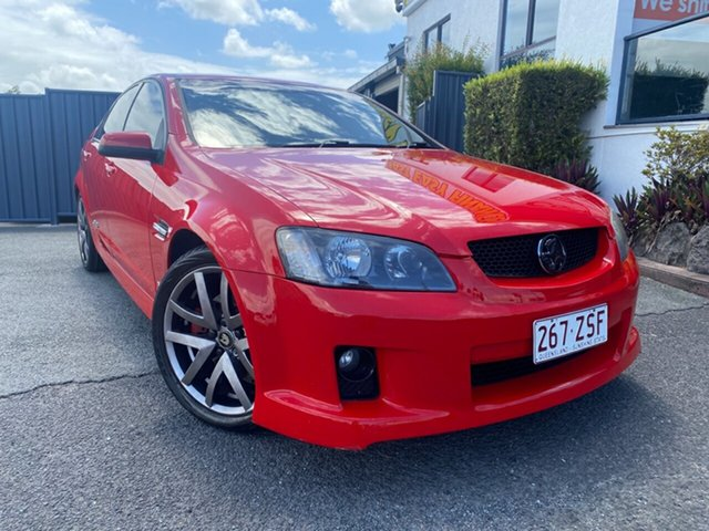 Used Holden Commodore VE SS Slacks Creek, 2006 Holden Commodore VE SS Black/redhot Tr 6 Speed Sports Automatic Sedan