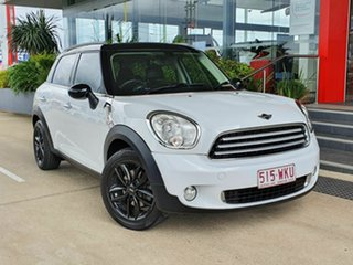 2014 Mini Countryman Cooper White 6 Speed Automatic Hatchback.
