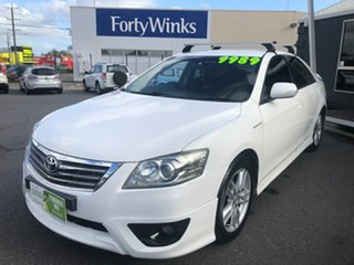2011 Toyota Aurion GSV40R 09 Upgrade Sportivo SX6 White 6 Speed Auto Sequential Sedan