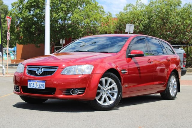 Used Holden Commodore VE II MY12.5 Omega Sportwagon Midland, 2013 Holden Commodore VE II MY12.5 Omega Sportwagon Red 6 Speed Sports Automatic Wagon