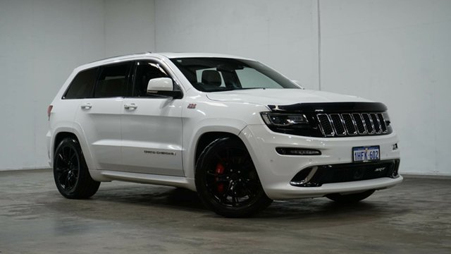 Used Jeep Grand Cherokee WK MY15 SRT Welshpool, 2015 Jeep Grand Cherokee WK MY15 SRT White 8 Speed Sports Automatic Wagon