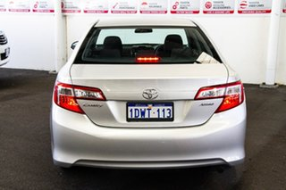 2011 Toyota Camry ASV50R Altise Silver Pearl 6 Speed Automatic Sedan