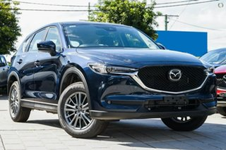 2020 Mazda CX-5 KF4WLA Touring SKYACTIV-Drive i-ACTIV AWD Blue 6 Speed Sports Automatic Wagon.