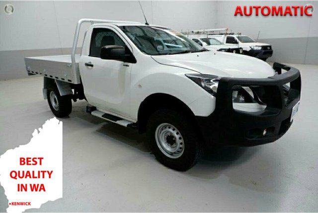 Used Mazda BT-50 UR0YG1 XT Kenwick, 2017 Mazda BT-50 UR0YG1 XT White 6 Speed Sports Automatic Cab Chassis