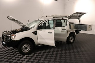 2013 Ford Ranger PX XL Hi-Rider Cool White 6 speed Automatic Cab Chassis