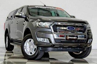 2018 Ford Ranger PX MkII MY18 XLT 3.2 Hi-Rider (4x2) (5 Yr) Grey 6 Speed Automatic Crew Cab Pickup.