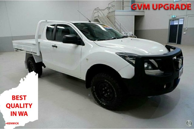 Used Mazda BT-50 UR0YF1 XT Freestyle Kenwick, 2016 Mazda BT-50 UR0YF1 XT Freestyle White 6 Speed Manual Cab Chassis