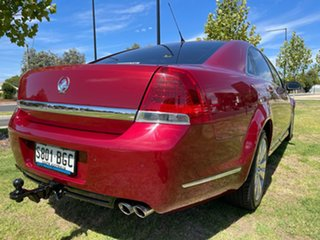 2008 Holden Caprice WM Red/Black 6 Speed Sports Automatic Sedan