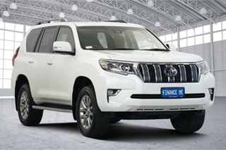 2018 Toyota Landcruiser Prado GDJ150R VX White 6 Speed Sports Automatic Wagon.