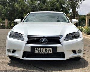 2012 Lexus GS GWL10R GS450h Sports Luxury White 8 Speed Constant Variable Sedan Hybrid.
