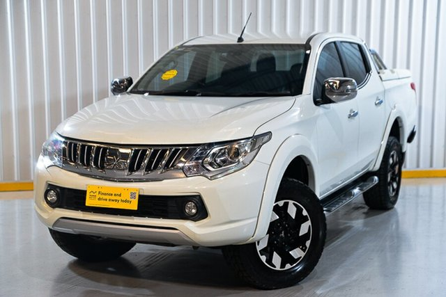 Used Mitsubishi Triton MQ MY16 Exceed Double Cab Hendra, 2016 Mitsubishi Triton MQ MY16 Exceed Double Cab White 5 Speed Sports Automatic Utility