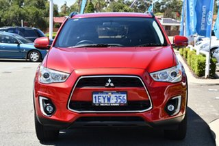 2016 Mitsubishi ASX XB MY15.5 LS 2WD Red/Black 6 Speed Constant Variable Wagon