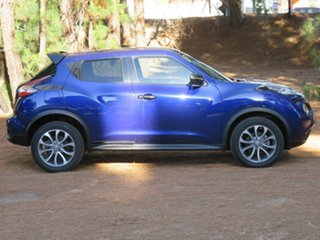 2015 Nissan Juke F15 Series 2 ST 2WD Blue 6 Speed Manual Hatchback