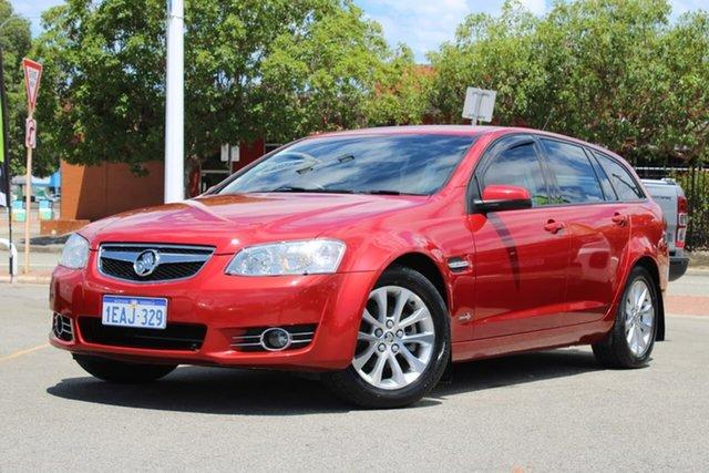 Used Holden Berlina VE II MY12.5 Sportwagon Midland, 2013 Holden Berlina VE II MY12.5 Sportwagon Red 6 Speed Sports Automatic Wagon
