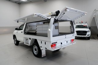 2017 Toyota Hilux GUN125R Workmate White 6 Speed Sports Automatic Cab Chassis.