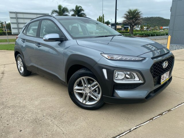 Used Hyundai Kona OS.3 MY20 Active 2WD Townsville, 2020 Hyundai Kona OS.3 MY20 Active 2WD Silver 6 Speed Sports Automatic Wagon