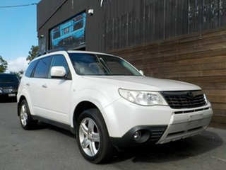 2009 Subaru Forester S3 MY10 XS AWD White 4 Speed Sports Automatic Wagon.