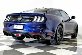 2018 Ford Mustang FN Fastback GT 5.0 V8 Blue 10 Speed Automatic Coupe