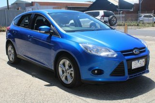 2014 Ford Focus LW MK2 MY14 Trend Blue 6 Speed Automatic Hatchback.