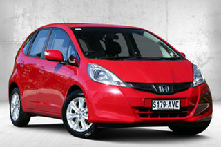 2013 Honda Jazz GE MY13 Vibe Milano Red 5 Speed Automatic Hatchback.