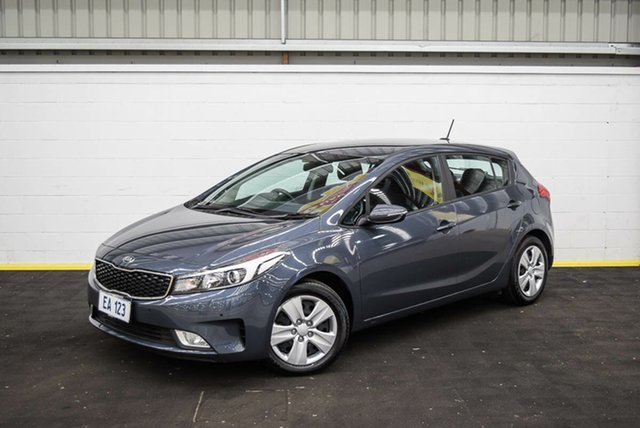 Used Kia Cerato YD MY17 S Canning Vale, 2017 Kia Cerato YD MY17 S Blue 6 Speed Sports Automatic Hatchback