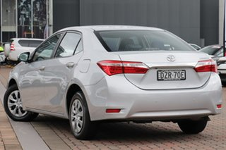 2015 Toyota Corolla ZRE172R Ascent Silver 6 Speed Manual Sedan.