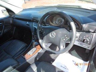 2004 Mercedes-Benz C200 W203 Kompressor Classic White 5 Speed Auto Tipshift Sedan