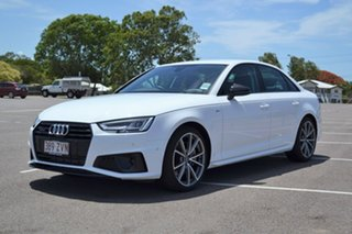 2019 Audi A4 B9 8W MY19 45 TFSI S Tronic Quattro S Line White 7 Speed Sports Automatic Dual Clutch