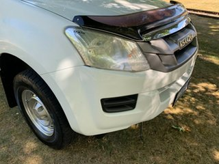 2014 Isuzu D-MAX MY14 SX Crew Cab White 5 Speed Sports Automatic Utility