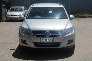 2011 Volkswagen Tiguan 5NC MY11 125 TSI Silver 7 Speed Auto Direct Shift Wagon.