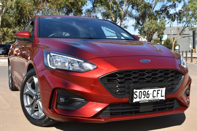 Used Ford Focus SA 2019.25MY ST-Line St Marys, 2019 Ford Focus SA 2019.25MY ST-Line Red 8 Speed Automatic Hatchback
