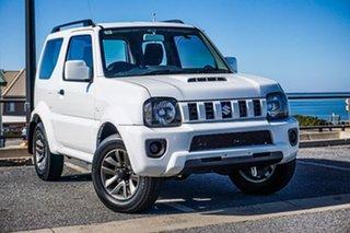 2014 Suzuki Jimny SN413 T6 Sierra White 4 Speed Automatic Hardtop.