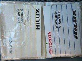 2010 Toyota Hilux KUN16R 09 Upgrade SR White 5 Speed Manual Dual Cab Pick-up
