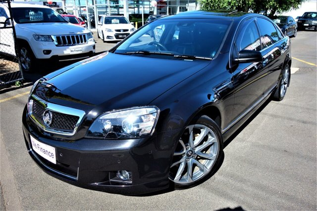 Used Holden Caprice WN II MY16 V Seaford, 2016 Holden Caprice WN II MY16 V Black 6 Speed Sports Automatic Sedan