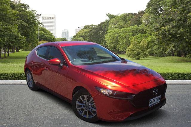 Demo Mazda 3 BP2H7A G20 SKYACTIV-Drive Pure Paradise, 2020 Mazda 3 BP2H7A G20 SKYACTIV-Drive Pure Soul Red 6 Speed Sports Automatic Hatchback