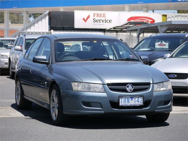 Used Holden Commodore VZ Lumina Cheltenham, 2004 Holden Commodore VZ Lumina Grey 4 Speed Automatic Sedan