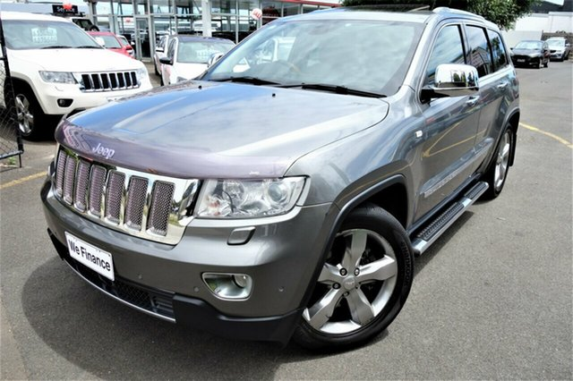 Used Jeep Grand Cherokee WK MY2011 Overland Seaford, 2011 Jeep Grand Cherokee WK MY2011 Overland Grey 5 Speed Sports Automatic Wagon