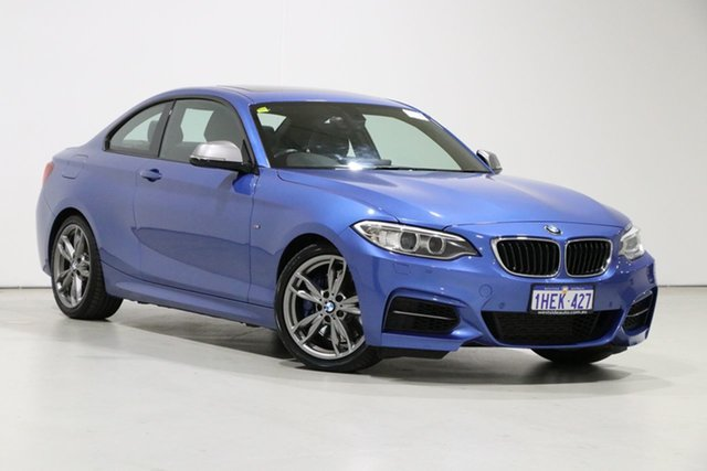 Used BMW M235i F22 Bentley, 2014 BMW M235i F22 Blue 8 Speed Automatic Coupe