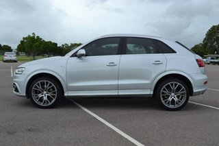 2012 Audi Q3 8U MY12 TDI S Tronic Quattro Silver 7 Speed Sports Automatic Dual Clutch Wagon