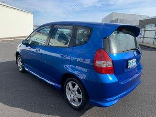 2004 Honda Jazz GD VTi-S Blue 7 Speed Constant Variable Hatchback