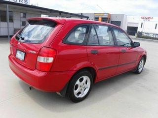 2002 Mazda 323 BJ II-J48 Protege Red 4 Speed Automatic Sedan.